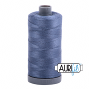 Aurifil 28 Cotton Thread - 1248 (Blue/Grey)